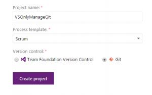 Vytvoření repository pro projekt