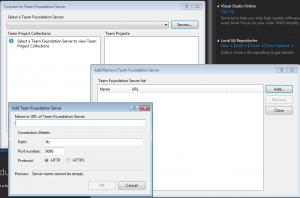 Přidání nového VSO serveru