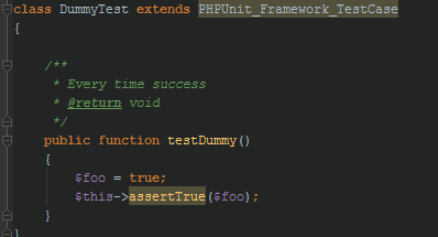 PHP Unit Test